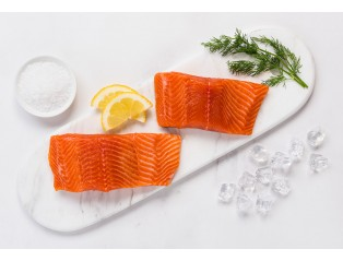 Norwegian Salmon Trout Fillet with Skin On (200 -220g) Per Piece